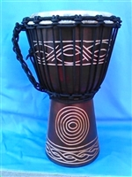 "Small Traveler Djembe Drum 16"" x 9""- (40M1)"