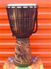 "Medium Djembe Drum 20"" x 11"" ~ Elephant - (50M8)"