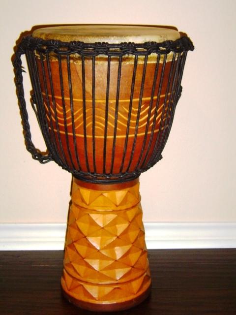 Djembe hand drum african