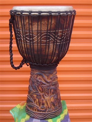 "XL Pro Series Djembe 26"" x 15"" - ELEPHANT - Model # 65m4"