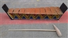 Handmade Percussion Traditional Balinese Xylophone Glockenspiels Gamelan 10 Keys