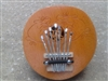 Karimba Mbira Coconut Shell Thumb Finger Piano Kalimba ~ Brown