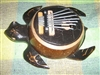 Karimba Mbira Coconut Shell Thumb Finger Piano Kalimba ~ Turtle
